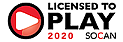Licensed by SOCAN